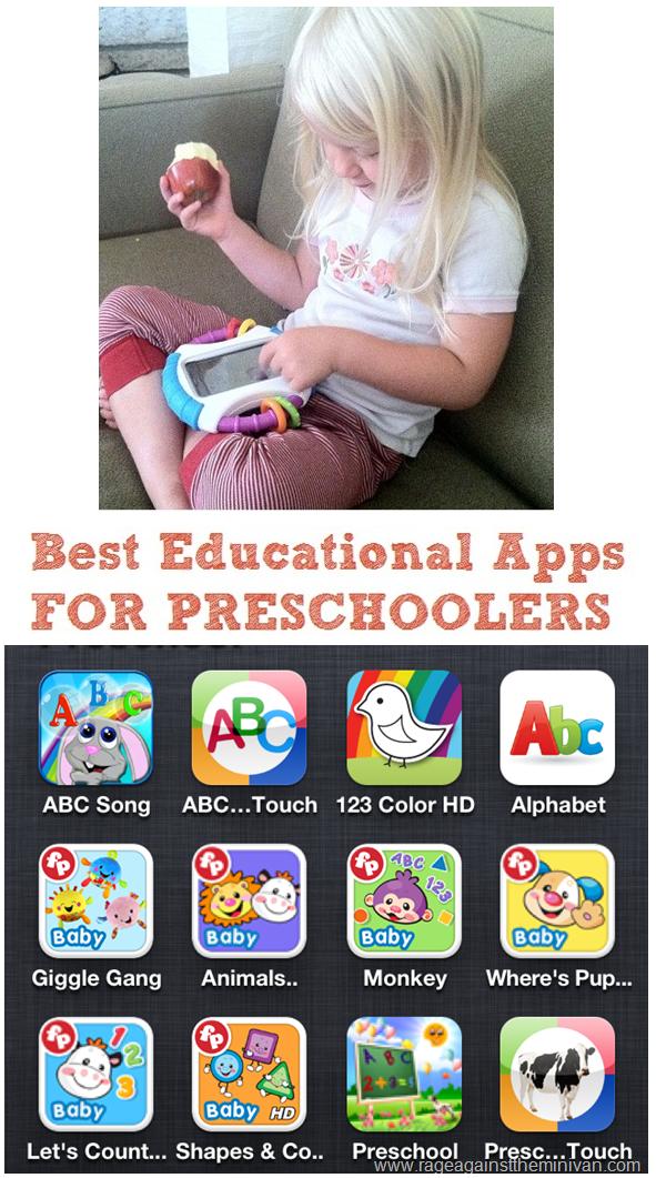 Best Iphone And Ipad Apps For Preschoolers