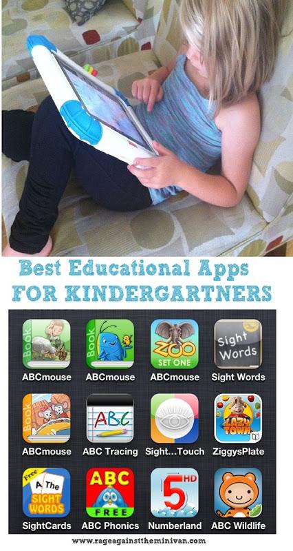 best iphone/ipad apps for kindergarten-aged kids : Rage