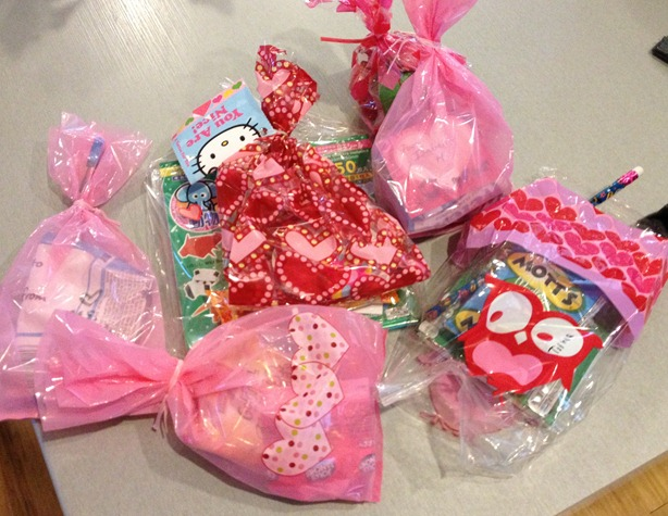 Valentine Gift Bags Ideas