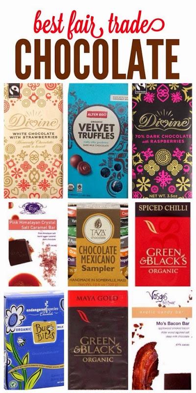 Best fair-trade chocolate bars