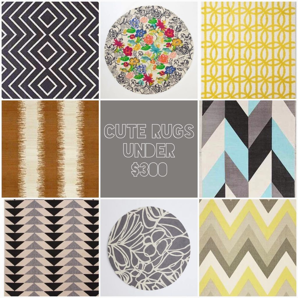 Friday Finds: Cute Rugs Under $300