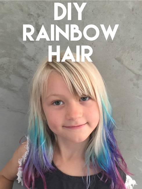 Diy Colored Hair Tips - Home Design