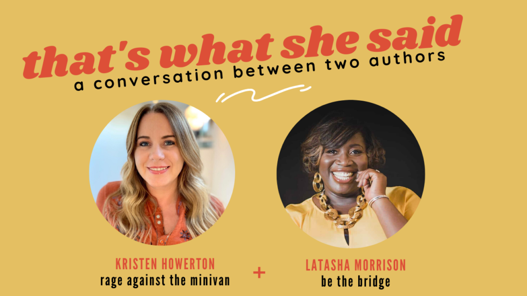 Latasha Morrison and Kirsten Howerton author conversation